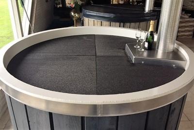Lounge Bath 4 delige isolatie afdekmatten